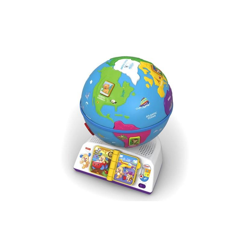 Ucz się i śmiej Edukacyjny Globus Odkrywcy DRJ85