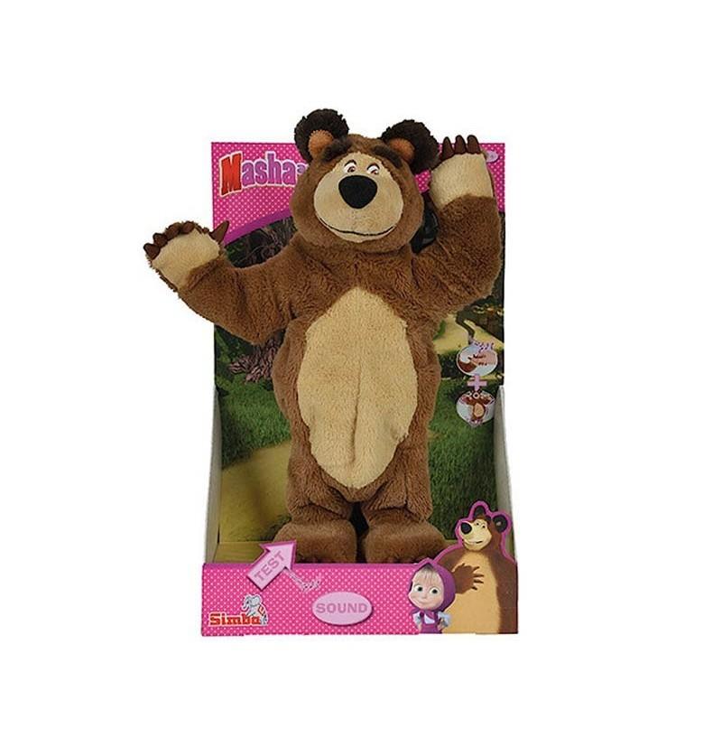 Masza i Niedźwiedź Tańczący niedźwiedź 32cm