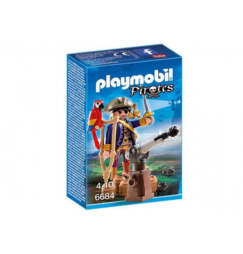 Playmobil 6684 Kapitan piratów