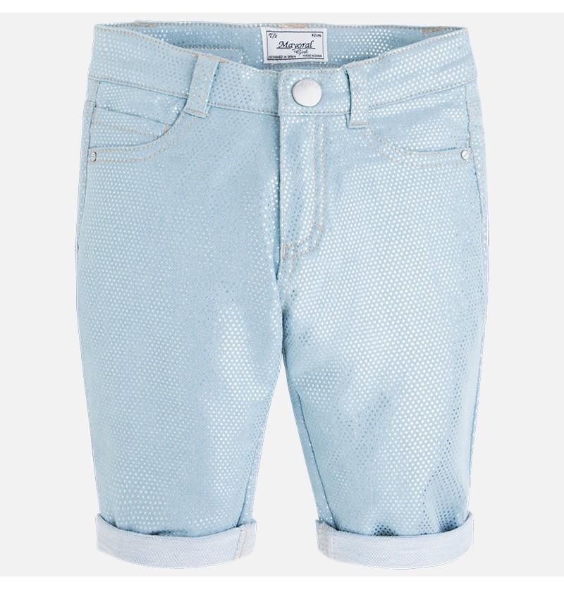 Krótkie spodnie z dzianiny drapanej Mayoral 3259