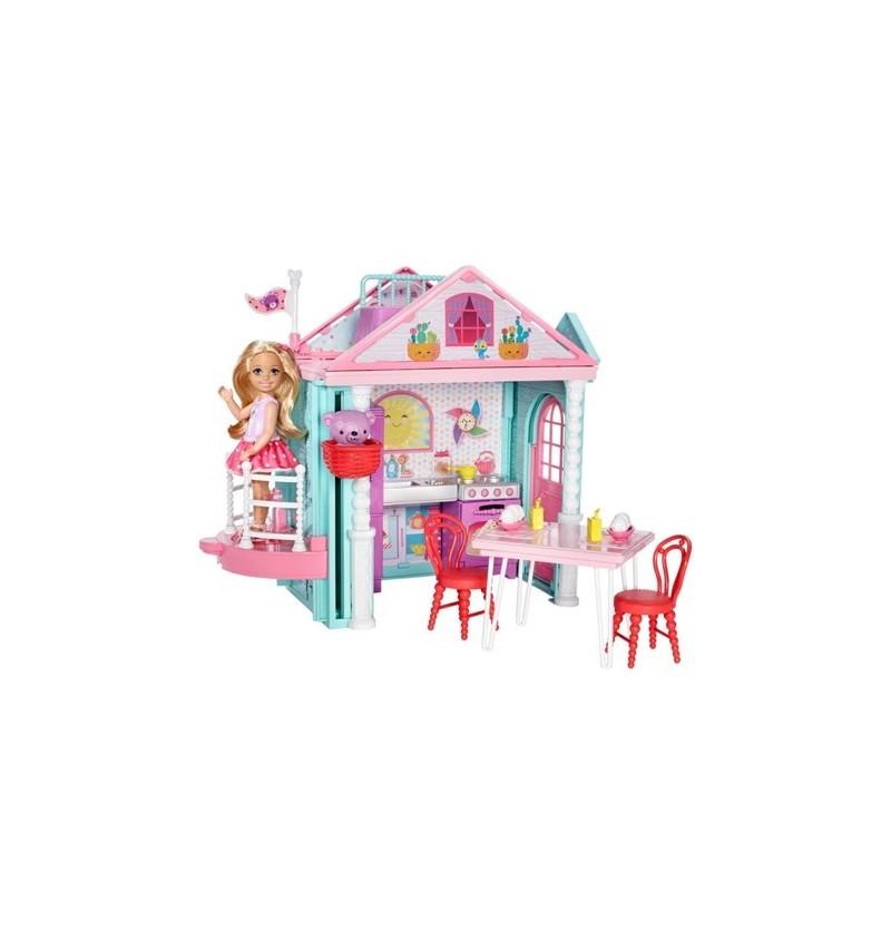 Barbie DWJ50 Domek zabaw...