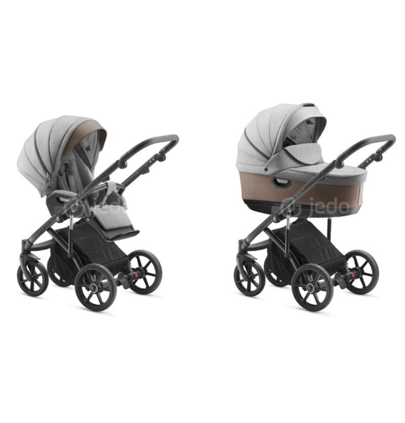 Jedo - Tamel Wózek Wielofunkcyjny 2w1 / Rama Czarna