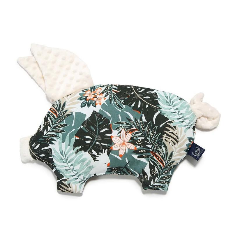 La Millou Podusia Sleepy Pig- Papagayo Ecru