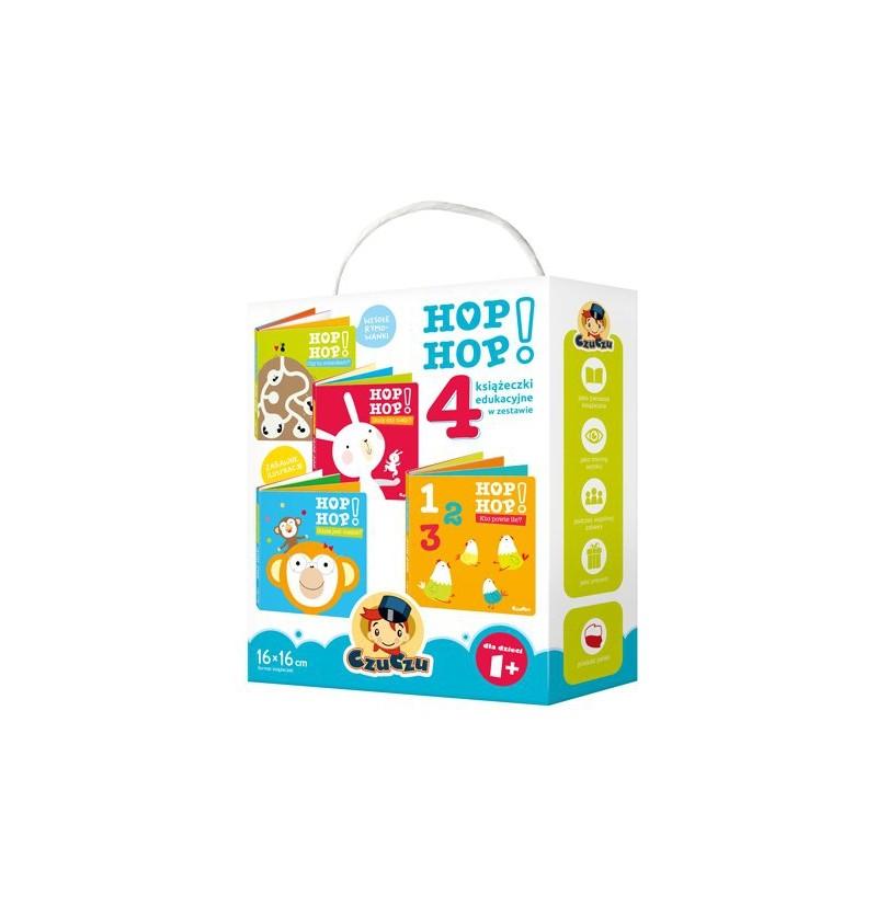 Czuczu Hop Hop 4 książeczki 9959