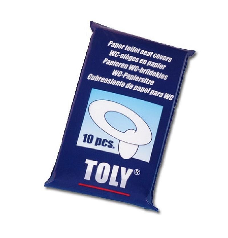Jednorazowe nakładki sedesowe Toly Kids 10 szt. 80065