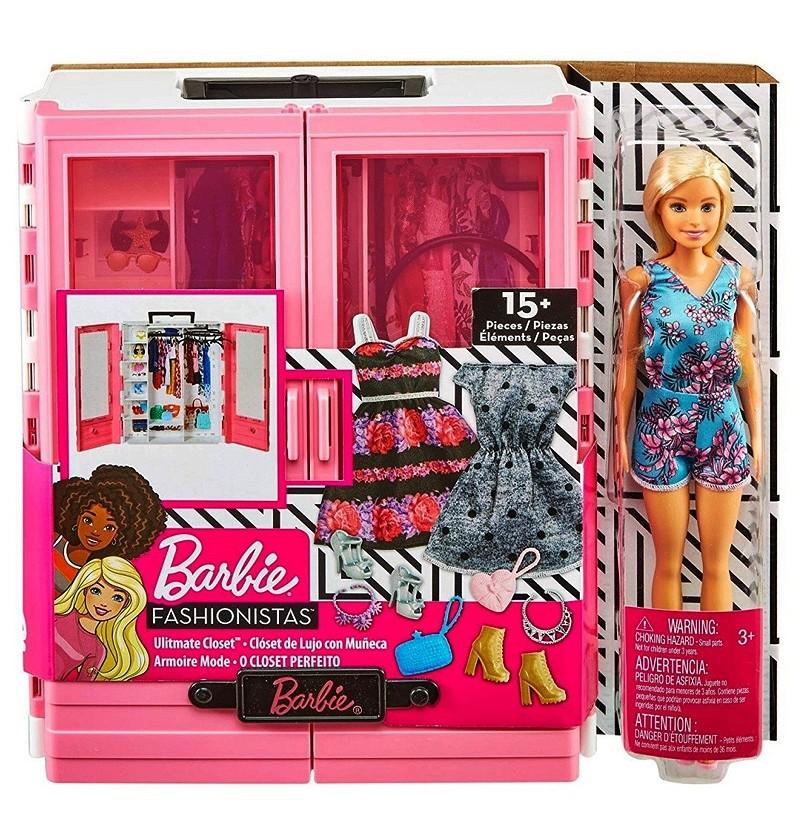 Barbie GBK12 SZAFA NA...