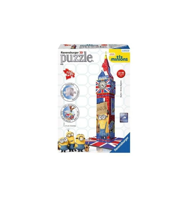 Ravensburger 3D Big Ben Minionki 125890