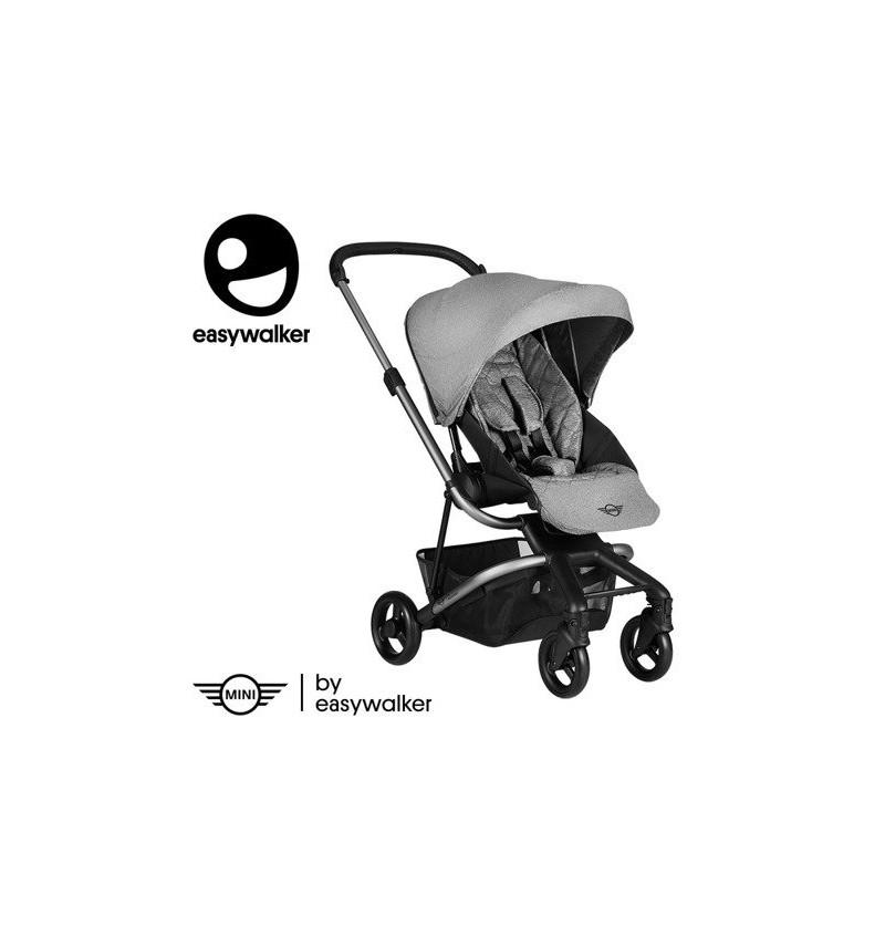 Mini by EasyWalker Stroller Wózek Głęboko-Spacerowy Soho Grey