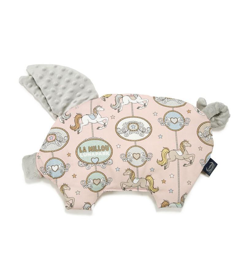 La Millou  PODUSIA SLEEPY PIG - DREAM LUNAPARK - LIGHT GREY