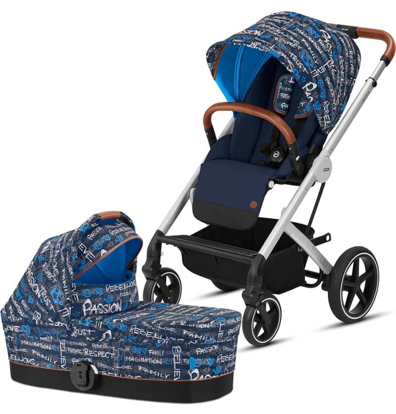 Cybex Balios S Fashion Trust Blue Wózek 2w1