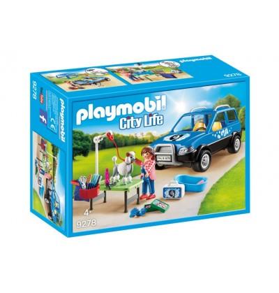 Playmobil 9278 Mobilny salon dla psów
