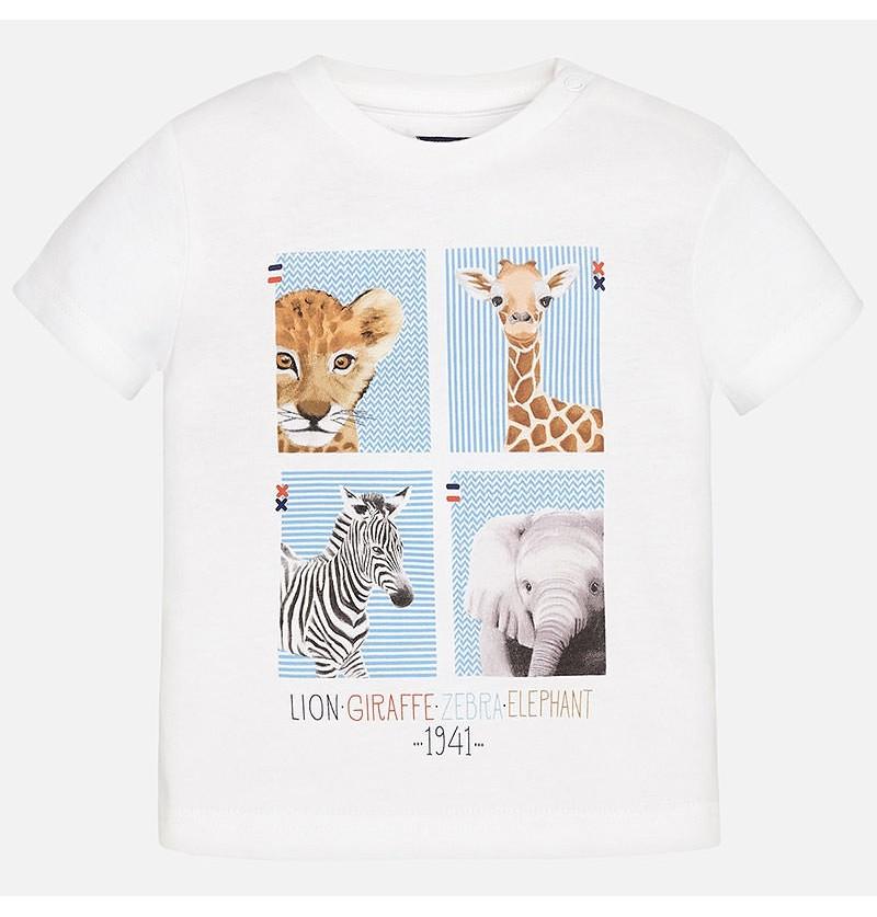 Koszulka ze zwierzątkami Mayoral 1017