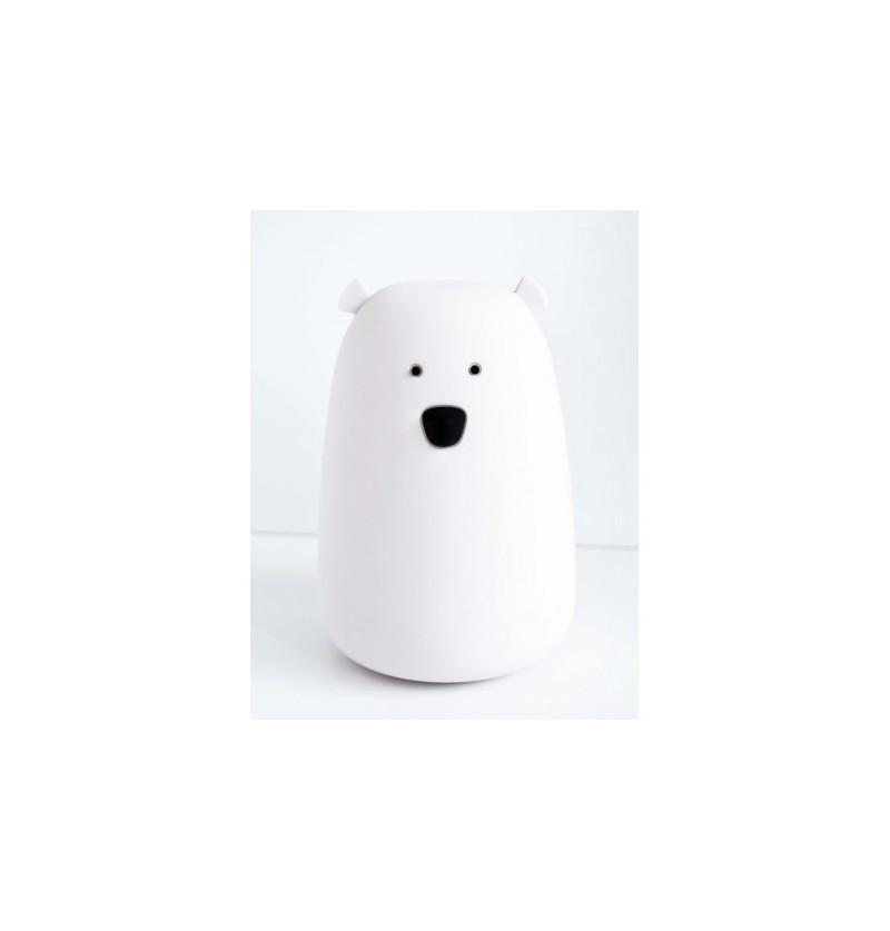 Lampka Regnum 52-0036 Lampka led miś biały