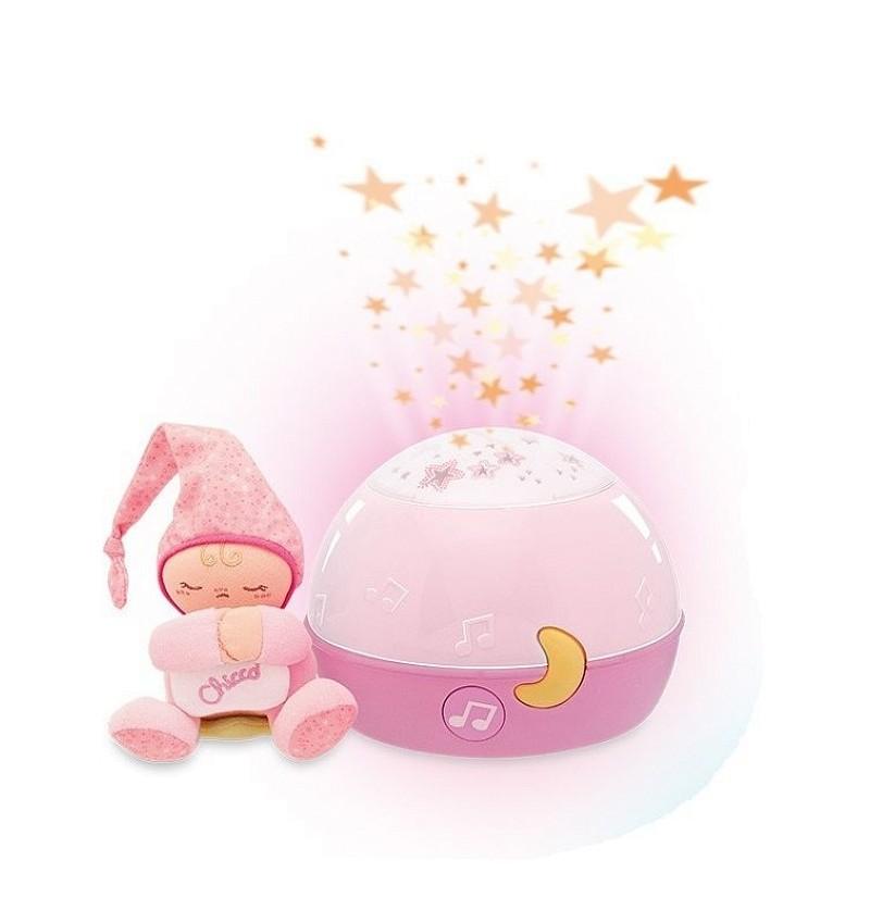 Projektor gwiazdek Chicco różowy 24271