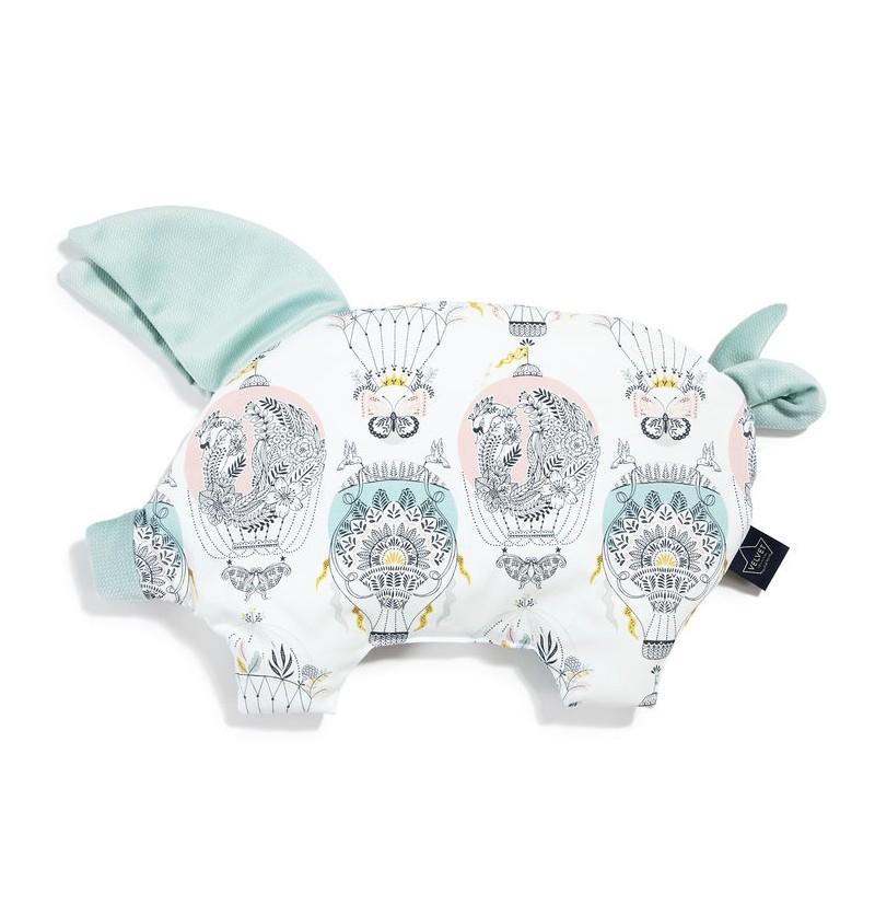 La Millou Sleepy Pig PODUSIA CAPPADOCIA DREAM SMOKE MINT Velvet Collection