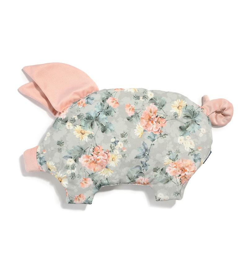 La Millou Sleepy Pig Velvet Collection Blooming Boutique Powder Pink