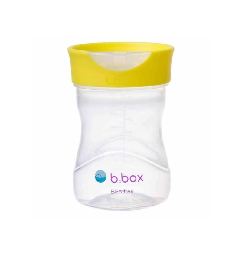 B.box Kubek treningowy 240 ml cytrynowy