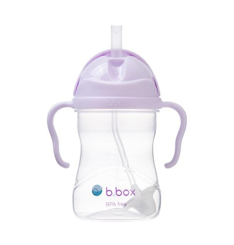 B.box Bidon ze słomką Boysenberry 240ml