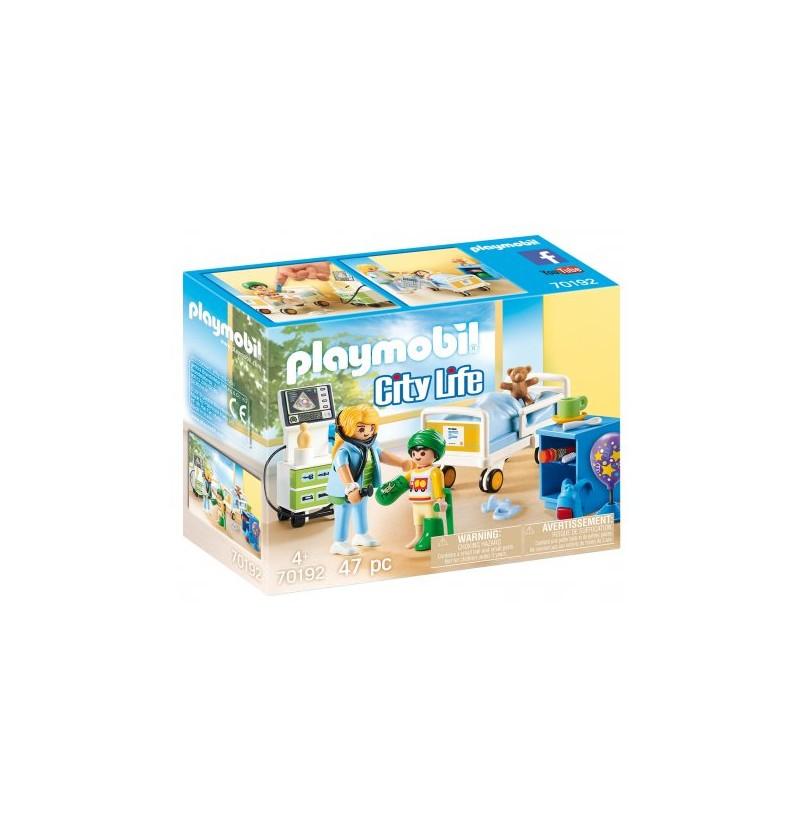 Playmobil Szpitalny pokój dziecięcy 70192