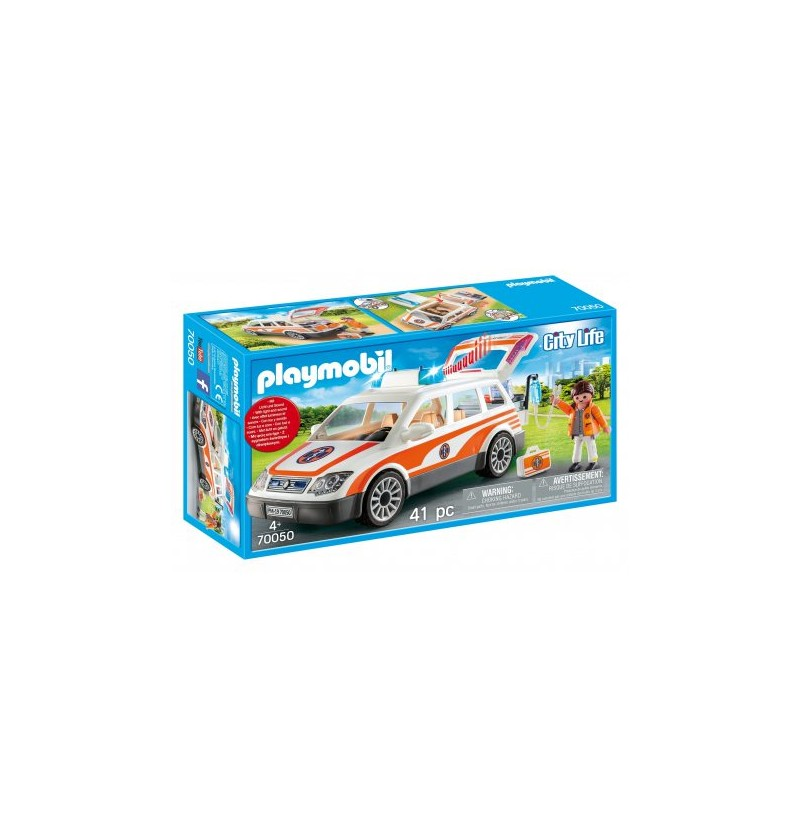 Playmobil 70050 Samochód ratowniczy ze światłem i dźwiękiem