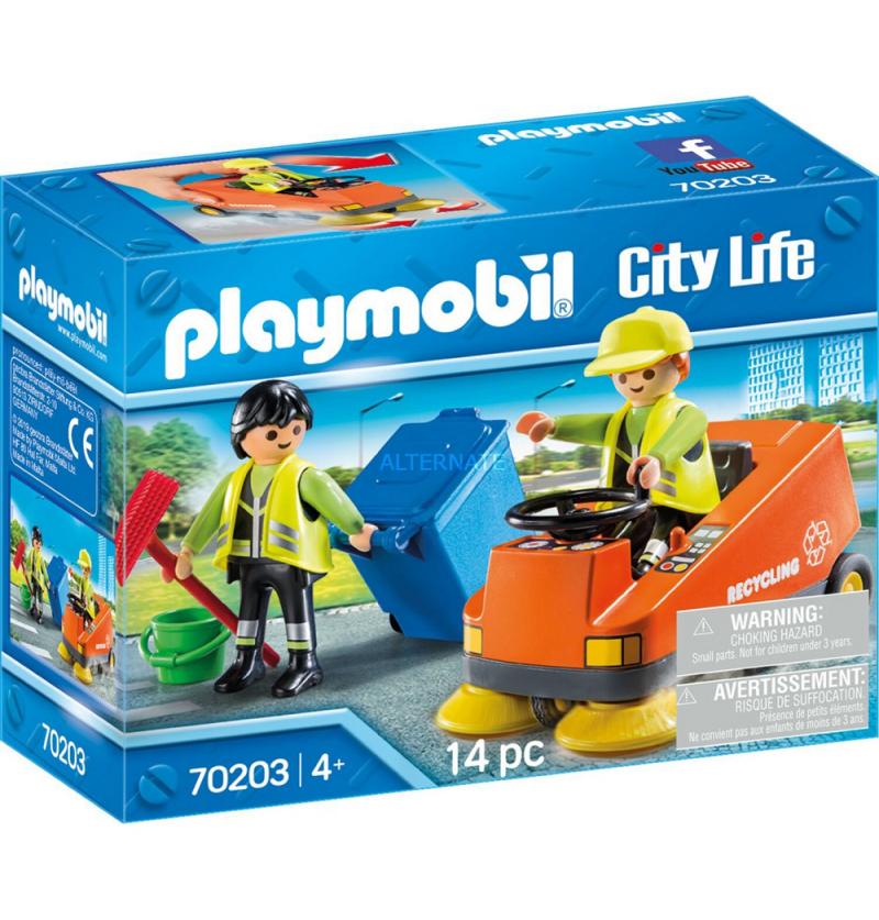 Playmobil 70203 Zamiatarka uliczna