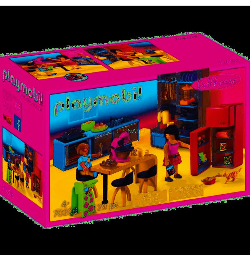 Playmobil 70206 Rodzinna kuchnia Dollhouse