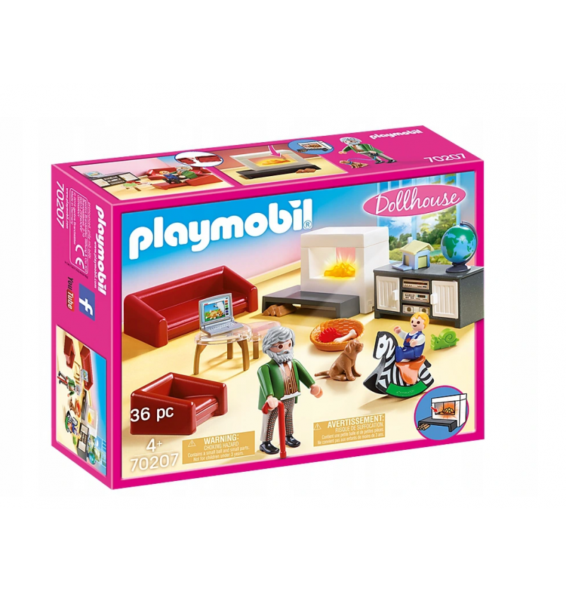 Playmobil 70207 Przytulny salon Dollhouse