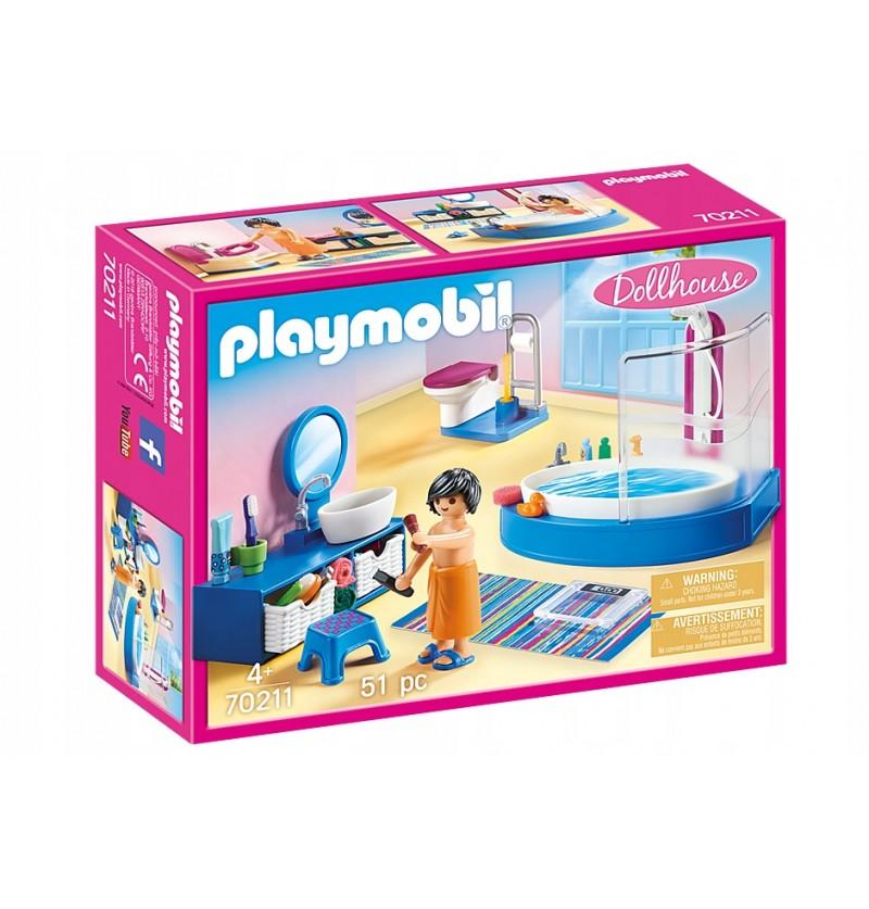 Playmobil 70211 Łazienka z wanną