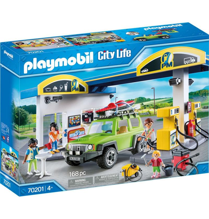 Playmobil 70201 Duża stacja benzynowa