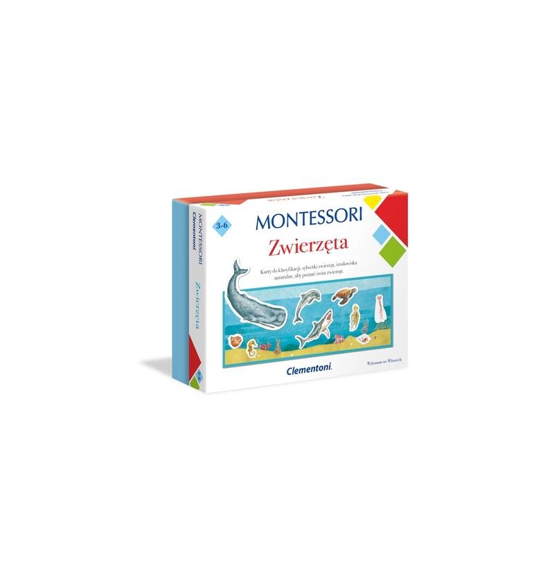Clementoni 50646 Montessori Zwierzęta