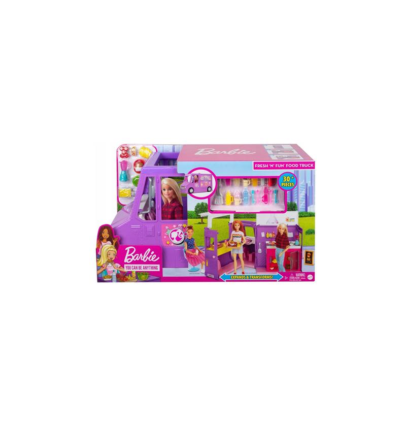 Barbie GMW07 Foodtruck Zestaw Do Zabawy