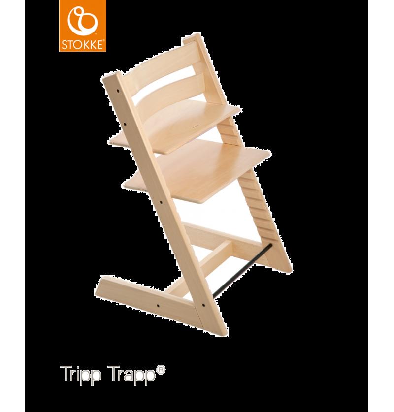 Krzesło Tripp Trapp® Drewno Bukowe