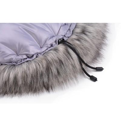 Śpiworek Cottonmoose Mini Moose Pink Gray