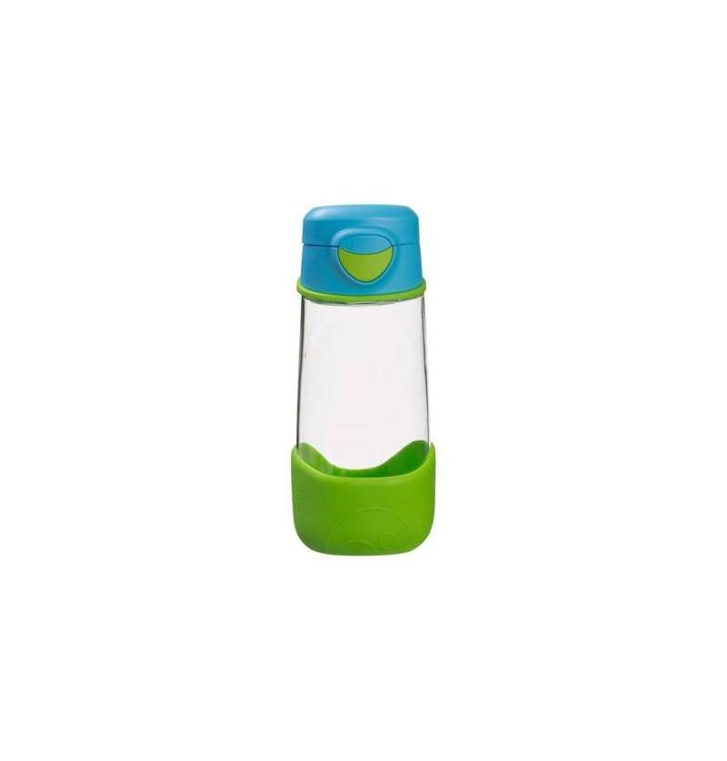 B.box Sportowa butelka tritanowa ze słomką 450 ml Ocean Breeze