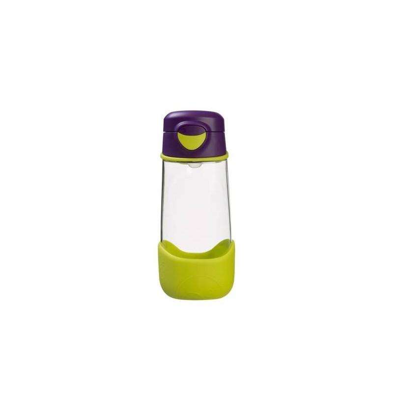 B.box Sportowa butelka tritanowa ze słomką 450 ml Passion Splash