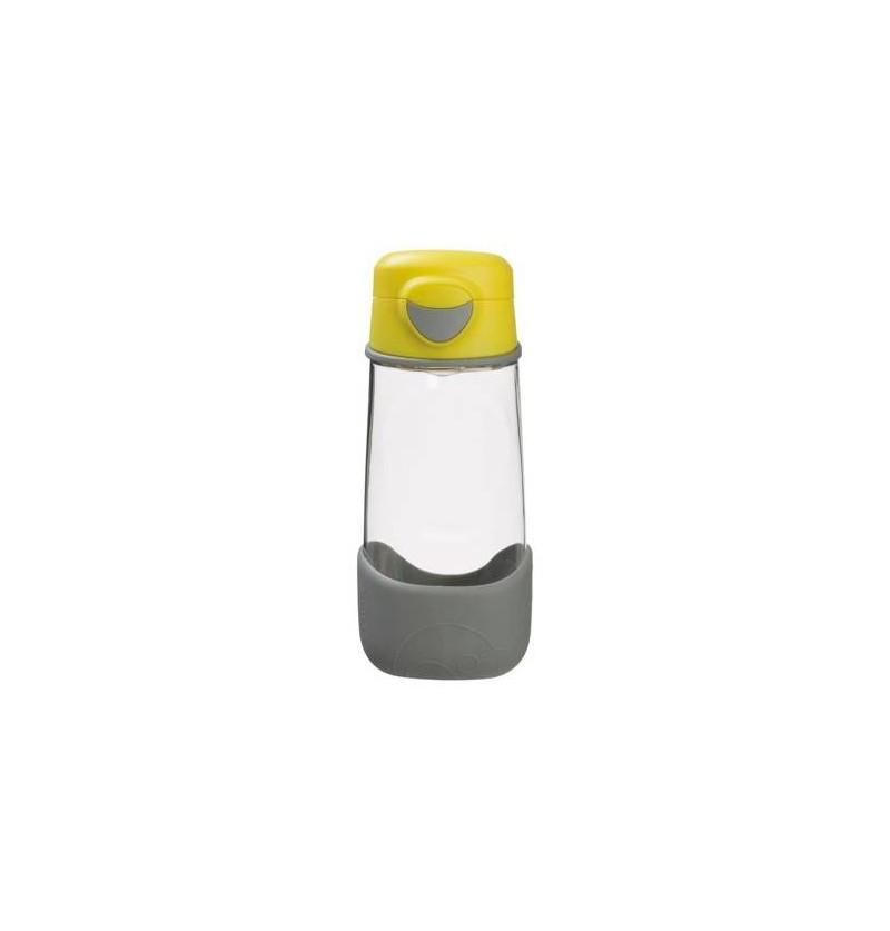 B.box Sportowa butelka tritanowa ze słomką 450 ml Lemon Sherbet