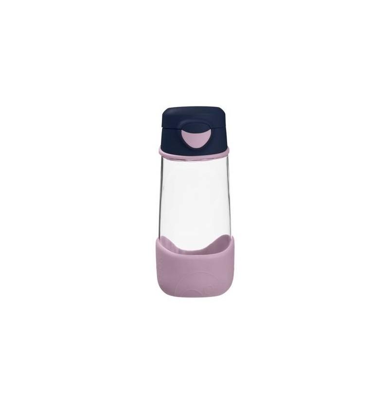 B.box Sportowa butelka tritanowa ze słomką 450 ml Indigo Rose