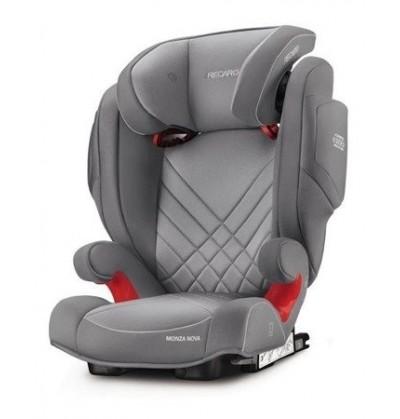 Monza Nova 2 Seatfix Recaro Fotelik Samochodowy 15-36 Kg Kolor Aluminium Grey