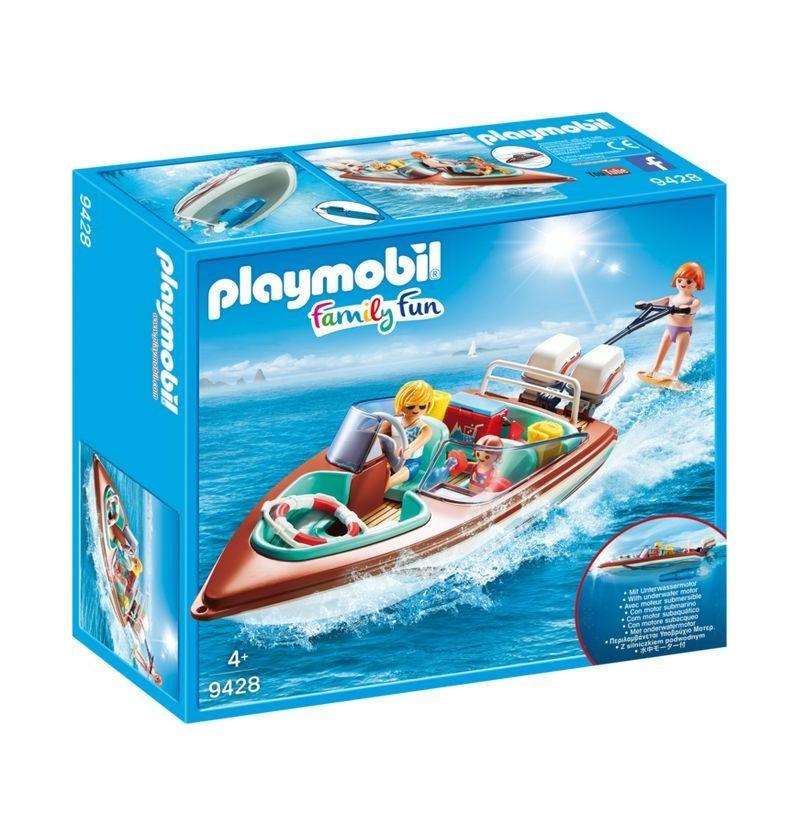 Playmobil 9428 Motorówka z silnikiem podwodnym