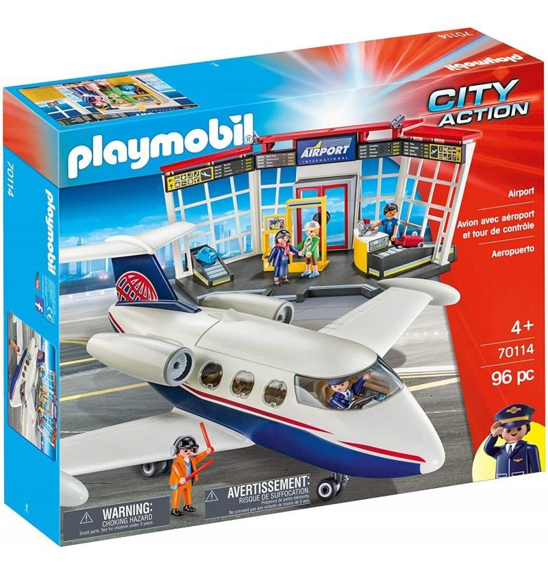 Playmobil 70114 Lotnisko