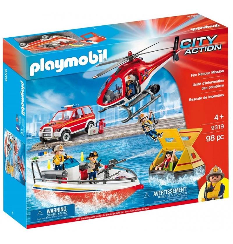 Playmobil 9319 Akcja ratownicza straży pożarnej