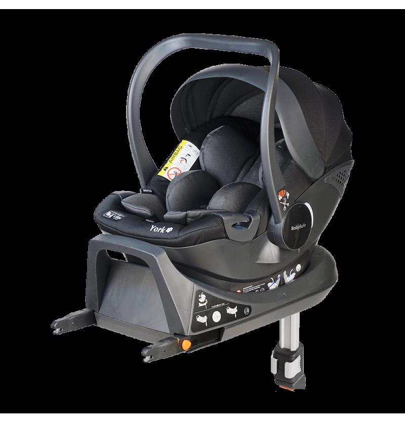 BabySafe York Fix i-Size Fotelik Samochodowy + Baza Isofix 0-13kg