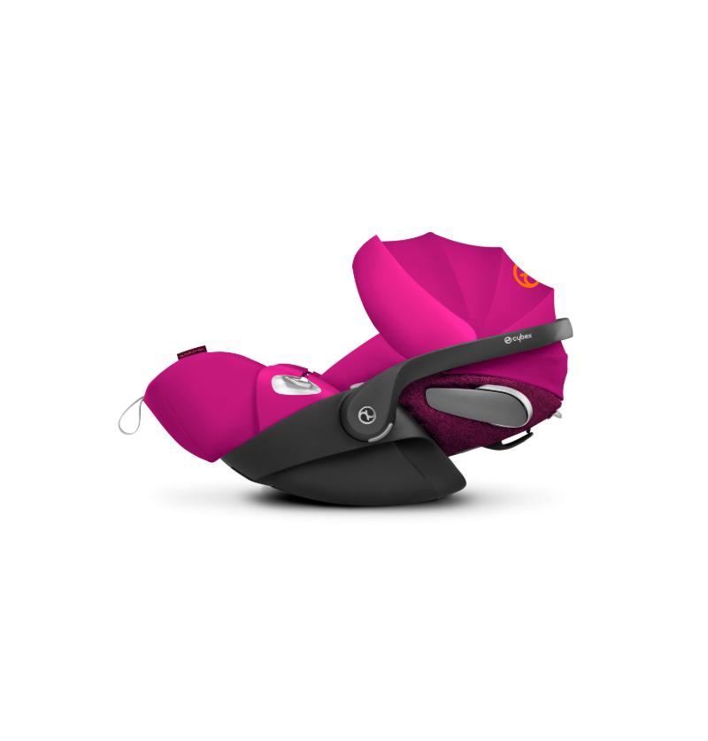 Cybex Cloud Z I-Size Passion Pink Black 0-13kg
