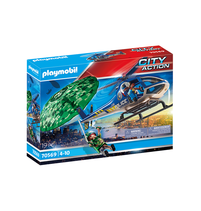 Playmobil 70569 Helikopter Policyjny + Katalog