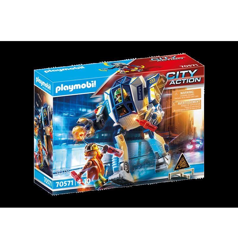 Playmobil 70571- Policyjny Robot Akcja Specjalna