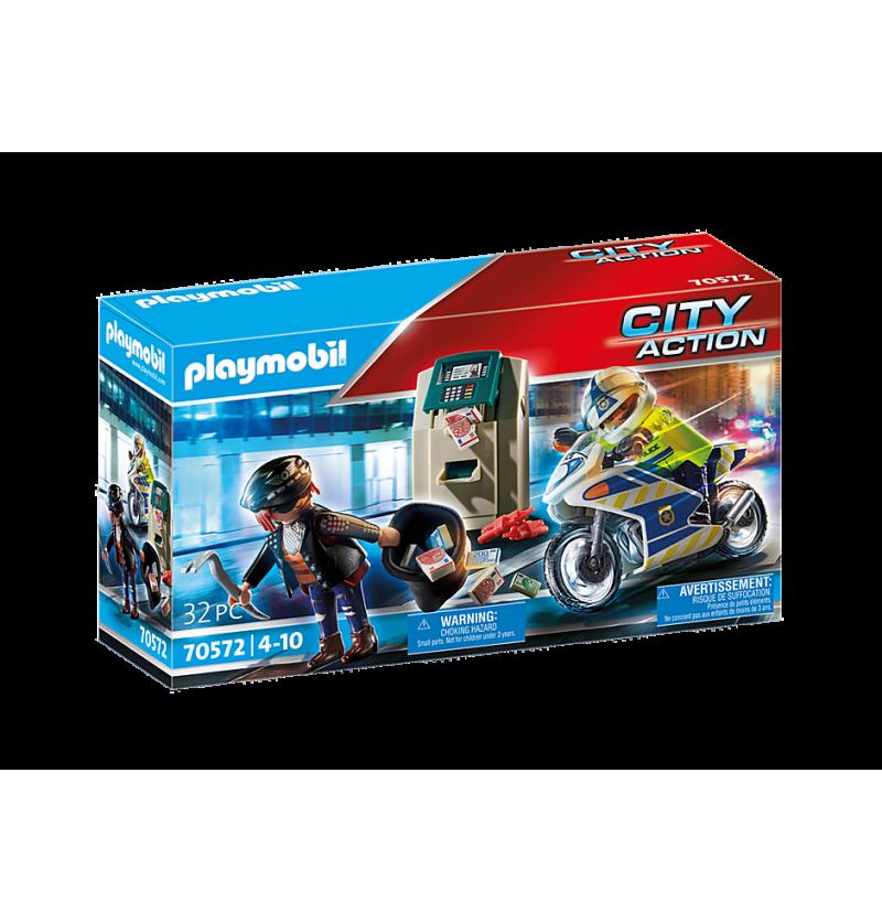 Playmobil 70572 Pościg Motorem Policyjnym