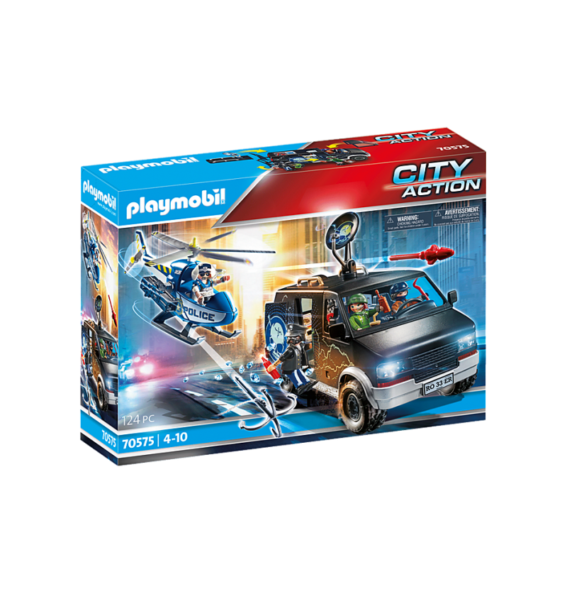 Playmobil 70575 Policyjny Helikopter