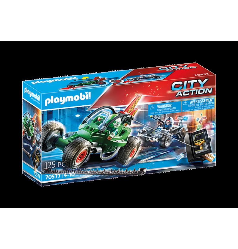 Playmobil 70577 Policyjny Gokart
