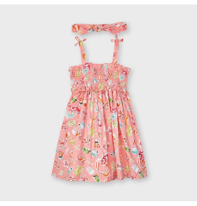Mayoral Sukienka Dla Dziewczynki 3954-077