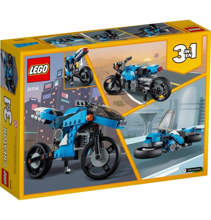 Lego Creator 31114 Super Motocykl